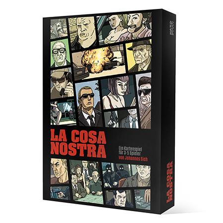 La Cosa Nostra Brettspiel