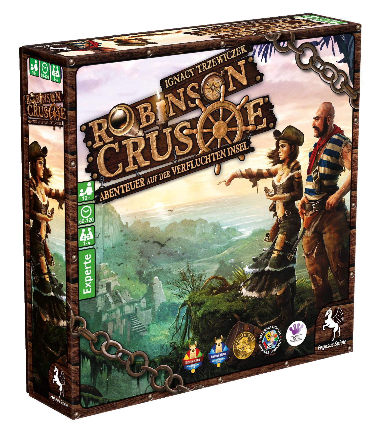 Spiel Robinson Crusoe